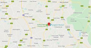 Congleton map